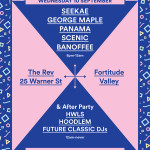 Hoodlem Future Classic Bigsound Poster